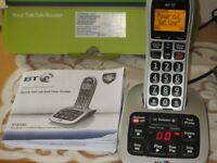 Answer Phone BT model 4500 with large clear buttons.
