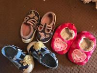 Size 4 girls toddler shoes