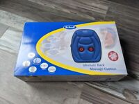 Scholl Ultimate Back Massage Cushion With Infrared Heat (Brand New)