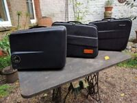 3 large Panniers, one Hepco & Becker , two Krauser, same style.