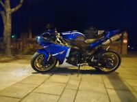 Yamaha R1 Big Bang low mileage