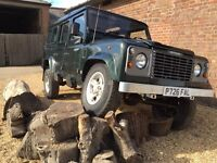 Land Rover Defender 300tdi. 110 station wagon
