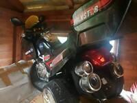 Kids electric motorbike 12v black