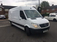 MERCEDES SPRINTER 313CDI,LWB,2012,138K MILES-WARRANTED,MOT MARCH'18,1 PREVIOUS OWNER,
