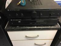 Cambridge Audio amp and CD player