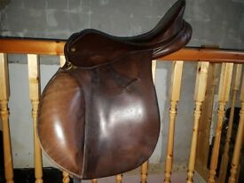"17.5"" Lovatt & Ricketts Saddle"