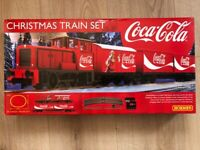 Hornby Train Set. The Coca Cola train Set. Brand New Unused