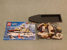 Lego City Fishing Boat (60147) complete