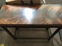 Side hall table