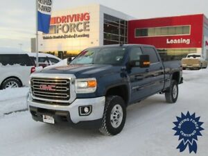 2016 GMC Sierra 2500HD SLE, 6.5 Ft Box, Crew Cab, 6.6L Diesel