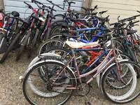 Job lot mountain bikes X 15