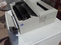 HP laser printer