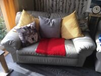 For Sale -two 2-seater leather sofas.