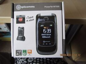 Amplicomms PowerTel M7500 Mobile Phone