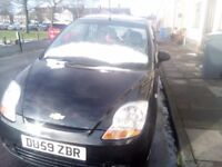 Chevrolet matiz 0.8 for sale