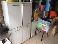 Three office cabinets