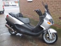piaggio x9 125 running big moped