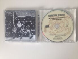 Allman Brothers Band: at Fillmore East (1971). CD. Very good condition.