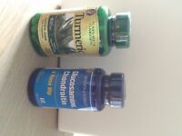Tumeric and Glucosimine vitamin pills