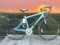 New Falcon Express 14 Speed 700c 47cm Ladies Road Race Racing Bike -Jade Green - RRP £219