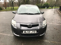 **TOYOTA AURIS 2009 TR VVTI ONLY 38,774 MILES**