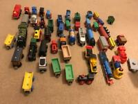 Thomas wooden trains (mixed brand bundle)