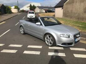 Audi A4 s-line convertible