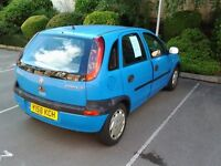 CORSA, BLUE, MOT, GOOD RUNNER