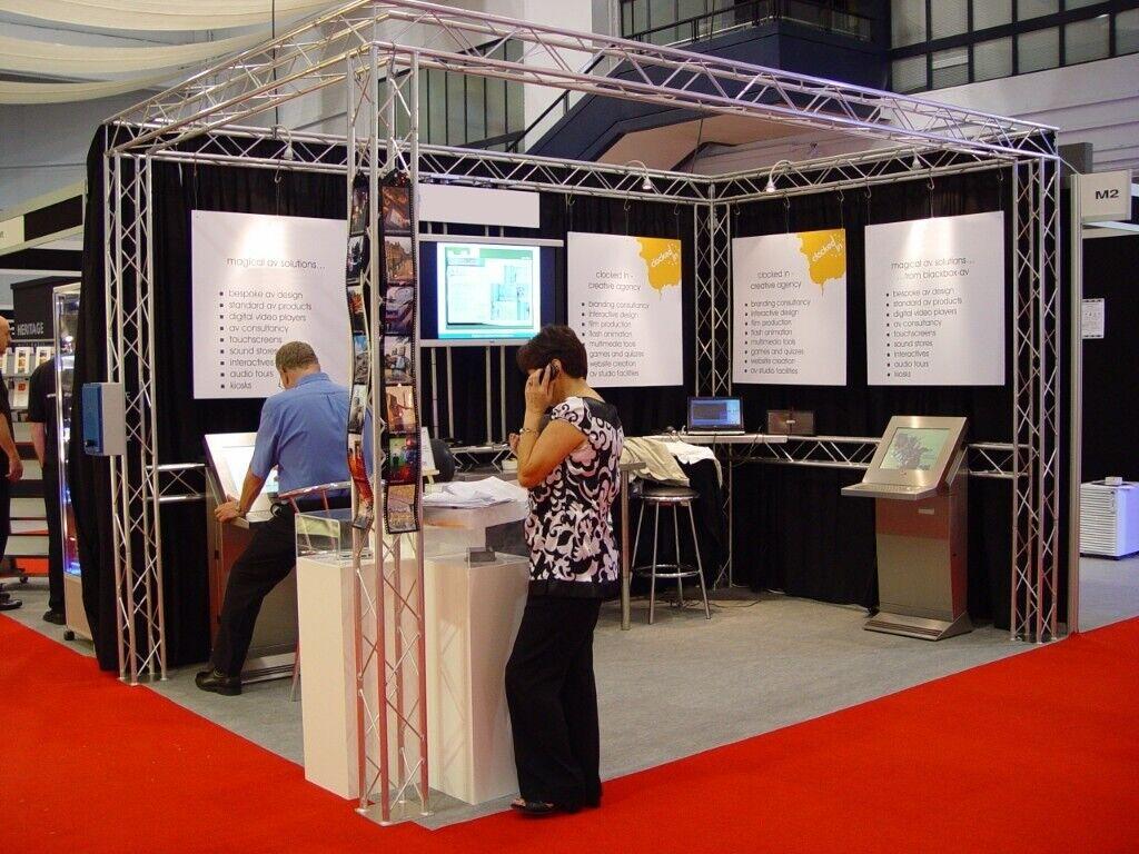 Exhibition Stand Gumtree : Aluminium truss framed exhibition show stand in baglan neath