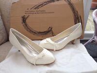 Brand new, unworn brides shoes
