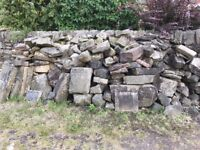 Walling Stone (over 3 tonnes availale)