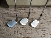 Ping wedges x3