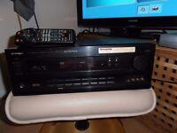 PIONEER VSA-E03 AMPLIFIER 5.1 HOME CINEMA AMP+REMOTE CONTROL.