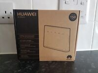 Huawei Portable WIFI no phone line required.