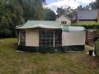 Conway Cardinal Clubman hardtop folding camper