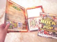ULTIMATE ROCK AND POP QUIZ KIT - Great to play over Xmas