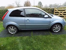 Fiesta Zetec Climate, 1 owner from new, MOT October, very low mileage