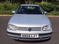Volkswagen Golf 1.6, SE, Silver, 5dr, Petrol. LOVELY CAR