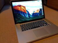 15 inch Apple MacBook Pro 2.2GHz Core i7