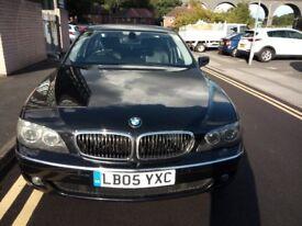 BMW 730d 2005 sapphire black facelift