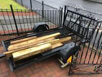 3 bike trailer / quad