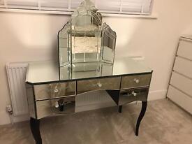 Stunning mirror dressing table