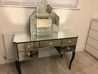 Stunning mirror dressing table
