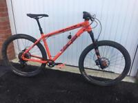 Whyte 905 RS Hardtail Mountain Bike 2016, size large.