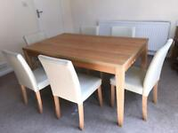 FREE dining table and 6 chairs