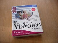 "I B M ""VIAVOICE"" RELEASE 8 ,STANDARD EDITION....""You talk, it types"" onto your PC."