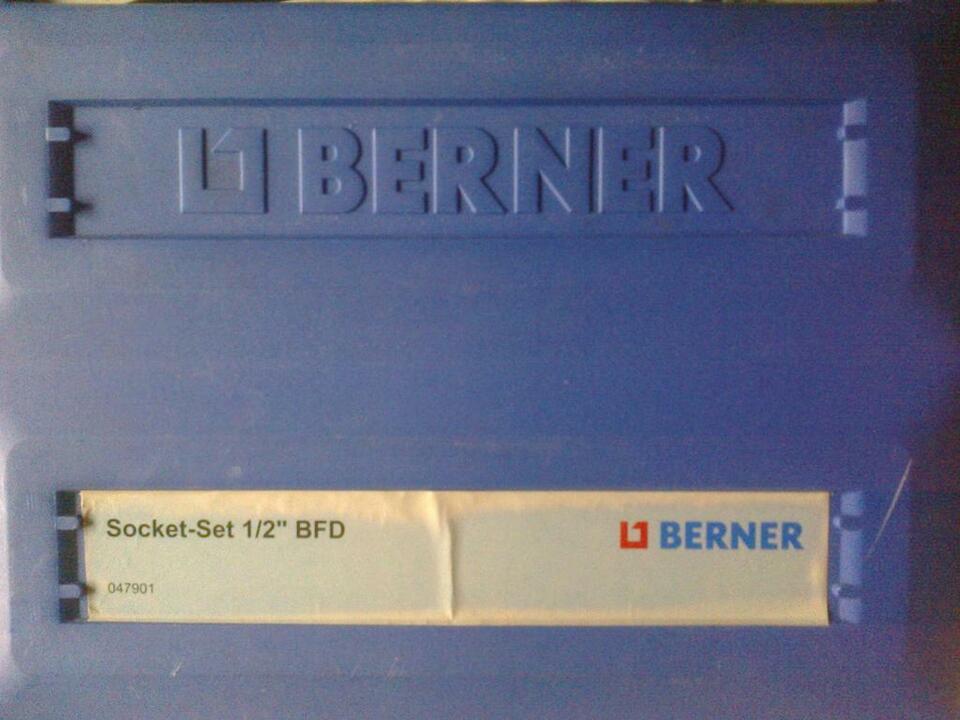 """Berner 1/2"""" Steckschlüsselsatz,Nusskasten NEU in Warrenzin"""