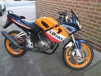Skyjet 125cc Repsol Colours motorbike