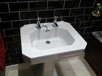 Armitage shanks cliveden sink with taps