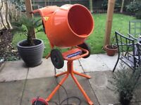 Belle electric cement mixer 240v .
